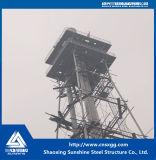 Torretta della struttura d'acciaio per industria chimica