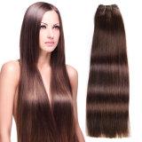 Máquina Trama Duplo Drawn Qualidade 100% Virgin Straight Human Hair