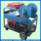 producto de limpieza de discos de tubo de alta presión de la máquina de la limpieza del tubo de las aguas residuales de 300m m