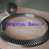 製造の螺線形の斜めギヤ(OD2000mm)