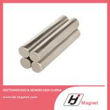 Permanenter gesinterter seltene Massen-Zylinder-Neodym-Eisen-Bor NdFeB Magnet mit starker Energie