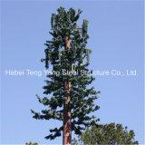 Tour d'antenne cellulaire camouflée parPin d'arbre d'Aritificial