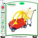 Вагонетка ребенка ягнится тележка игрушки вагонетки покупкы младенца вагонетки