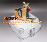 Aluminiumtätowierung-Maschinen-tragender Kasten u. bewegliches Drehspeicherbewegender Kasten