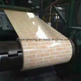 Acier galvanisé enduit par couleur en acier neuve de fleur de modèle pour le matériau de construction