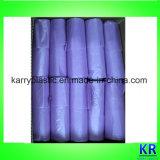 Sacs de transporteur en plastique de sacs d'ordures de HDPE