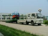 levage hydraulique de rampe mobile réglable de hauteur de 6t 8t 10t pour le conteneur