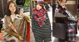 81310123 2015 mulheres da forma diluem o lenço da listra