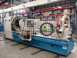 CNC水平オイルの国の旋盤機械