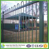 Los E.E.U.U. labran la cerca prefabricada galvanizada del hierro para 2017