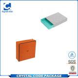Contenitore di carta riciclato laminazione lucida personalizzato di sciarpa di marchio