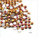 2017熱い販売の多色刷りの卸し売り高いQalityの熱い苦境のラインストーンのPreciosaの水晶(TP多色刷りab)