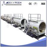 Штрангпресс пробки PE/пластичная линия штрангя-прессовани трубы HDPE