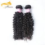 Человеческие волосы бразильянина девственницы черноты волос фабрики оптовые