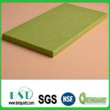 緑の輝きの積層物の水晶石のカウンタートップ