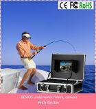 """O luxo subaquático da câmara de vídeo DVR do inventor dos peixes TFT de DVR 7 de """" ajustou-se com a câmera do cabo de 20m - preto"""
