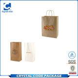 Рециркулированный водоустойчивый мешок Brown Kraft бумажный