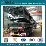 Transportador de 3 eixos Transporte de carga Semi-reboque de estaca