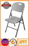 Silla de plegamiento al aire libre del metal de la silla plástica