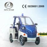 Vehículo de pasajeros eléctrico del carro de golf de 3 Seater mini