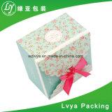 Eco-Friendly бумажная коробка подарка с изготовленный на заказ печатание