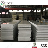100mm軽量EPSサンドイッチパネル、鋼板のパネル