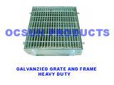 Pesante-dovere di Galvanzied Grates e di Frames