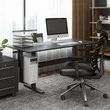 Sentar el escritorio del ordenador del soporte con la altura Ajustment para el uso casero de los muebles