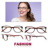 Рамки Eyewear высокого качества рамки Eyeglass женщин оптически стекел способа