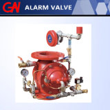 Soupape de déluge dans le système d'alarme d'incendie