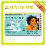 Cartão em branco esperto da identificação do estudante do terreno de RFID com impressão personalizada