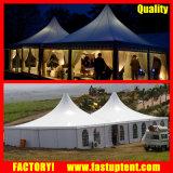 Tente transparente de pagoda de panneau de mur d'ABS de mur en verre de tente classique d'usager