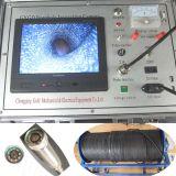 Câmera subterrânea da inspeção do poço da câmara de vídeo e de água da perfuração
