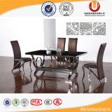 현대 나무로 되는 탁상 금속 다리 식탁 (UL-Y062)