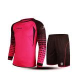 安いサッカーのスーツのサッカーのカスタム通気性のトレーニングのスーツの卸売