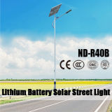 (ND-R40B) Sonnenkollektor-Straßenlaterne