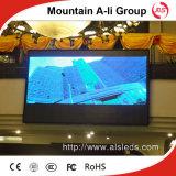 에너지 절약 HD 실내 LED 영상 벽 P6