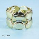 Arc d'or avec du charme avec le bracelet de diamant (WS-22606)