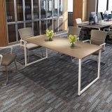 6人のためのオフィスによって薄板にされるMDFの会議の席