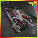 広告のためのカスタム屋外PVCビニールの旗の印刷(TJ-XZ-02)