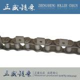 Двойная роликовая цепь с цепью передачи