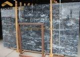 Aquamarinlの青い大理石の平板
