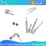 Kundenspezifische karminrote Spitze-Ring-Wicklungs-Düsen für Textilmaschinerie (RC0643-4-1515)