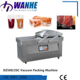 Machine van de Verpakking van de Sandwich van het Brood van het Lapje vlees van het Graan van het Vlees van de plastic Film de Vacuüm