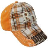 レジ係ファブリックが付いている洗浄されたスポーツの帽子