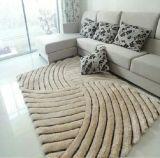 Großhandelselastischer heller Silk Teppich des Heizfaden-3D des Garn-300d