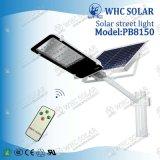Il nuovo disegno 50W di Whc impermeabilizza tutti in un indicatore luminoso di via solare del LED