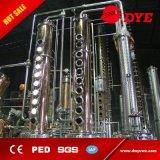 equipo de la columna de destilación del camino corto 130gal para las ventas