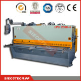 Tesoura hidráulica da guilhotina do metal de folha de QC12k 8*4000, máquina de corte da guilhotina da folha de metal do CNC