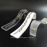 Halsketten-Acrylausstellungsstand-Armband-Schaukasten-Halter-Organisator-Zahnstange